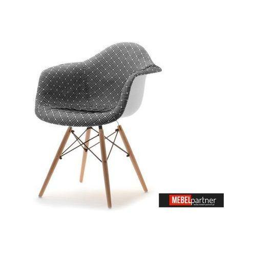 KRZESŁO TAPICEROWANE DO JADALNI MPA WOOD TAP MODERN - produkt z kategorii- Krzesła