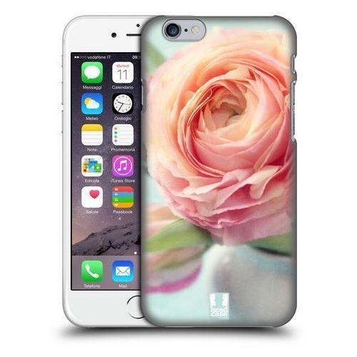 Etui plastikowe na telefon - Flowers PINK PEACH ROSES IN A VASE
