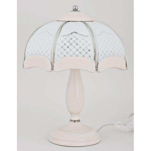 Italia Bianco lampka stołowa 2-punktowa 20078