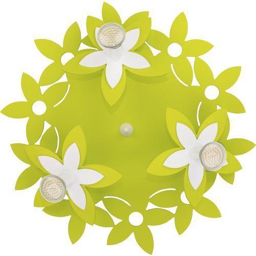 Plafon kwiatki Nowodvorski Green 6900 lampa sufitowa 3x35W GU10 zielony (5903139690096)