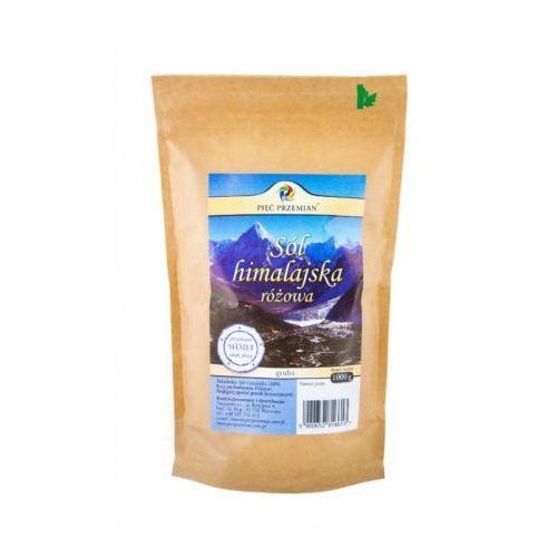 Pięć przemian Sól himalajska różowa gruboziarnista 1 kg