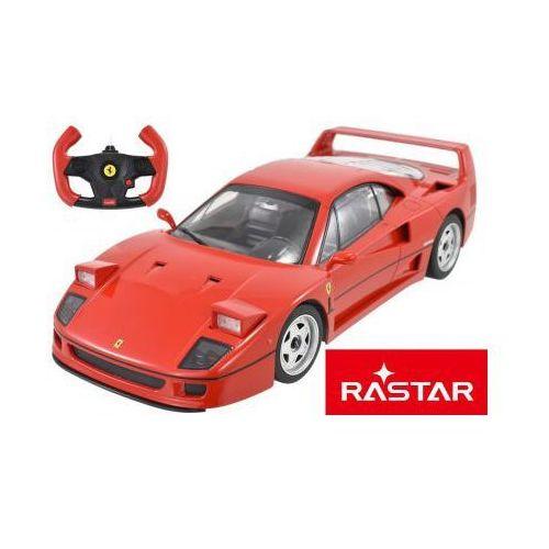 Duże Licencjonowane Zdalnie Sterowane Legendarne Ferrari F40 (1:14) + Bezprzewodowy Pilot., 590773115749