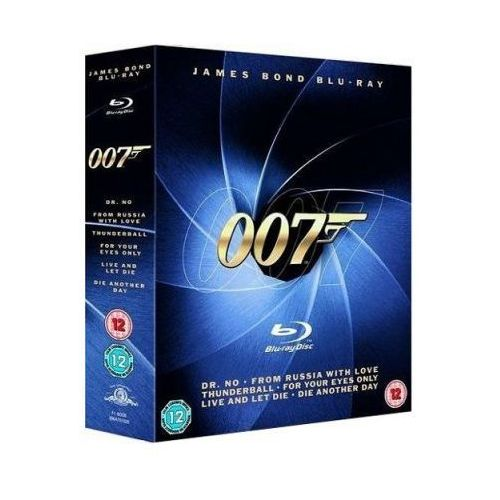 Film IMPERIAL CINEPIX 007 James Bond Kolekcja (6 Blu-ray) (5903570062001)