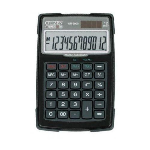 OKAZJA - Citizen WR-3000 wodo i pyłoszczelny z kategorii Kalkulatory