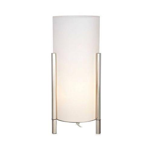 Stołowa LAMPA modernistyczna ROCKET 107053 Markslojd szklana LAMPKA biurkowa tuba biała