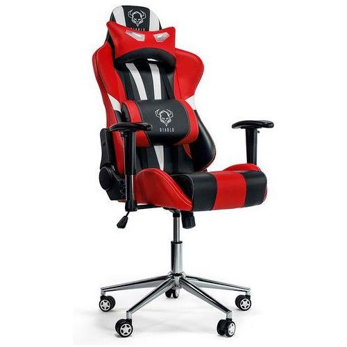 Fotel x-eye czarno-biało-czerwony + darmowy transport! marki Diablo chairs