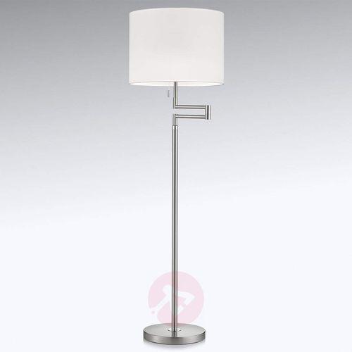 Giętka lampa stojąca led lilian, ściemniana marki Knapstein