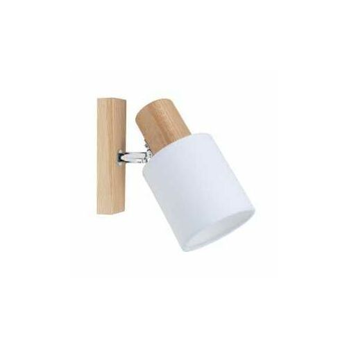 Spot Light Treehouse 2236174 kinkiet lampa ścienna 1x25W E27 drewno/biały (5901602369111)