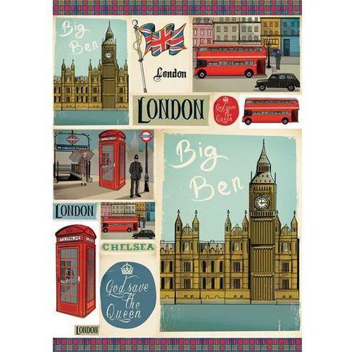 Papier klasyczny do decoupage 50x70 cm - 404 marki Stamperia