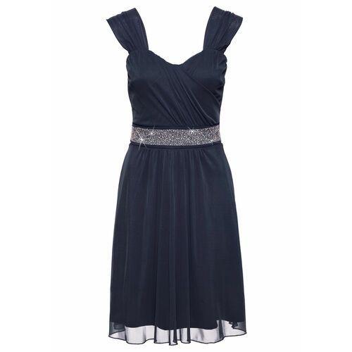 b16bbcab3d Sukienka koktajlowa z siatkowego materia.