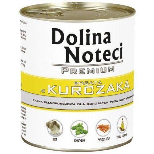 Dolina Noteci Premium karma dla psa KURCZAK puszka 400g/800g