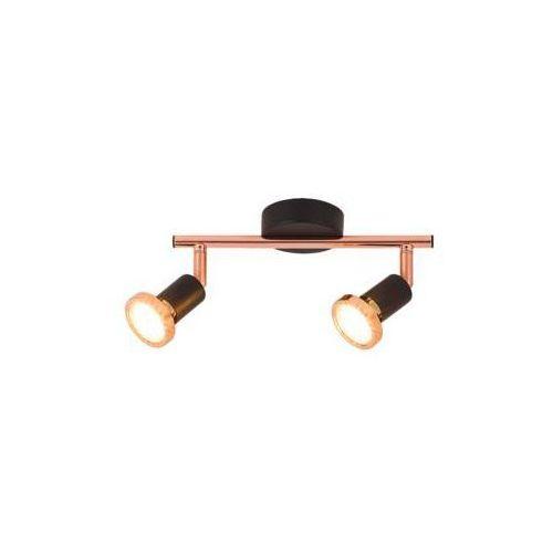 Lampa ścienna valentine 2x50w czarny marki Rabalux