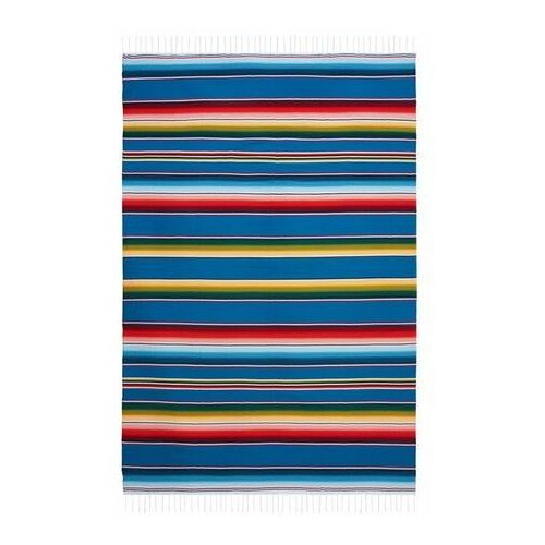 Kolorowy Koc Meksykański 150 x 200 cm - 001
