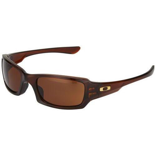 Oakley Fives Squared Okulary rowerowe brązowy Okulary (0700285787114)