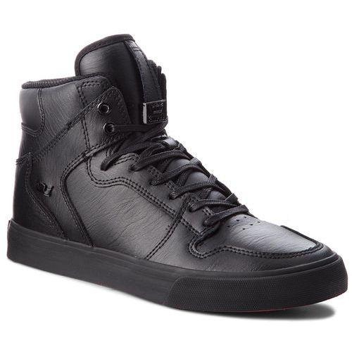 Supra Sneakersy - vaider 08201-081-m black/black/red