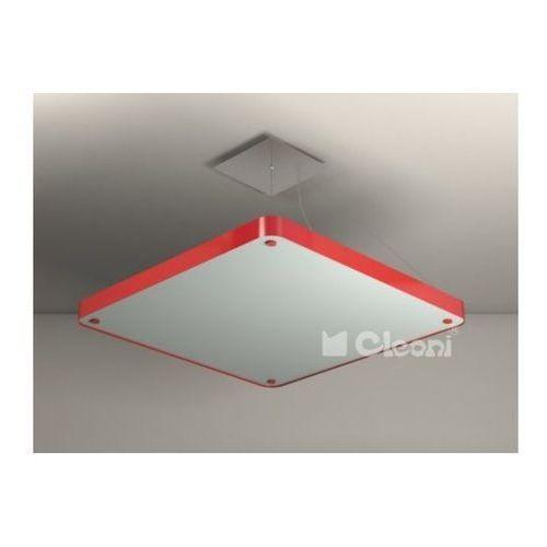 Cleoni Argon kwadrat i zw504f 1151w61 lampa wisząca - kolor z wzornika
