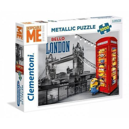 Clementoni Puzzle metallic 1000 high quality collection minionki -