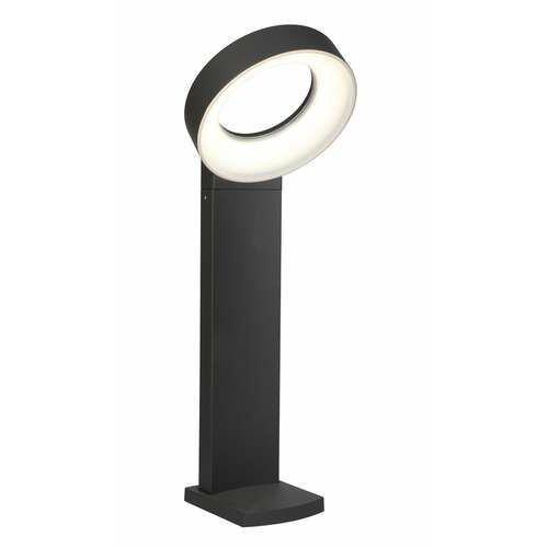 meridian 7216401118 lampa stojąca ogrodowa ip65 1x22w led ciemny szary marki Lutec