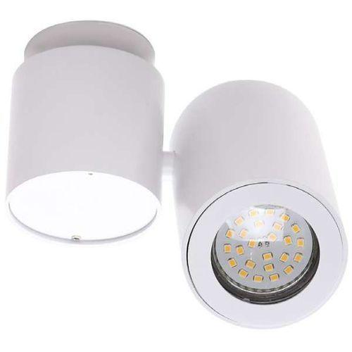 Maxlight Plafon lampa sufitowa barro c0036 minimalistyczna oprawa natynkowa spot regulowany tuba biała (1000000356885)