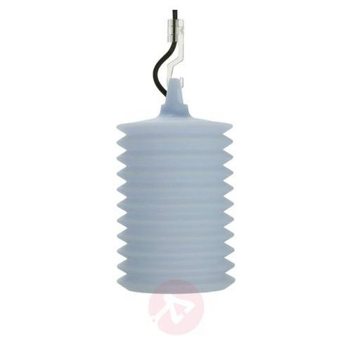 Imponująca lampa wisząca LAMPION niebieska, 1LPH1 001 00