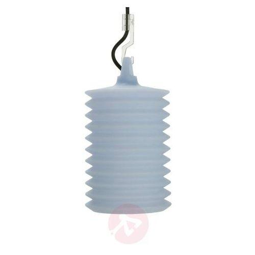 Imponująca lampa wisząca lampion niebieska marki Rotaliana