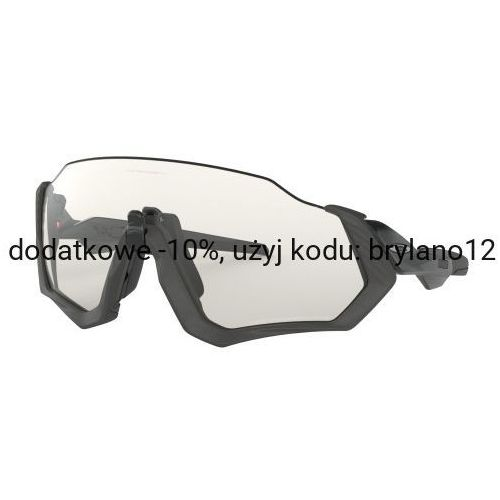 Okulary flight jacket steel/black ink clear black iridium photochromic oo9401-0737 marki Oakley