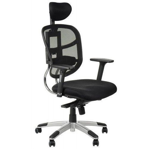 Fotel biurowy gabinetowy HN-5018/CZARNY krzesło biurowe obrotowe, HN-5018/CZARNY