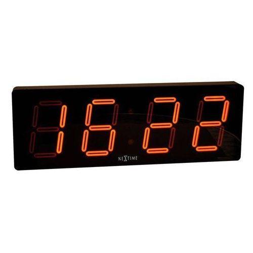 Nextime Zegar ścienny 3059 big d 51x18 cm