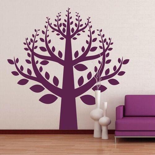 naklejka welurowa drzewo 1293