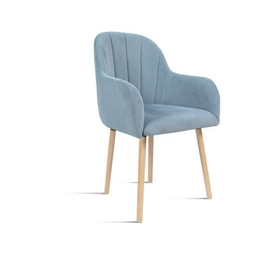 Krzesło besso niebieski/ noga buk/ lu2782 marki B&d