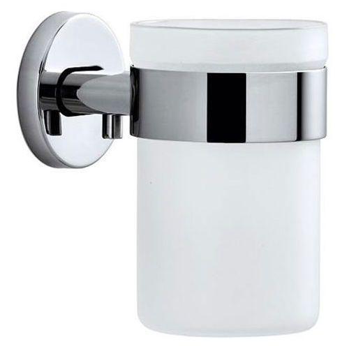 Kubek łazienkowy AREO Blomus stal nierdzewna połysk + szkło matowe