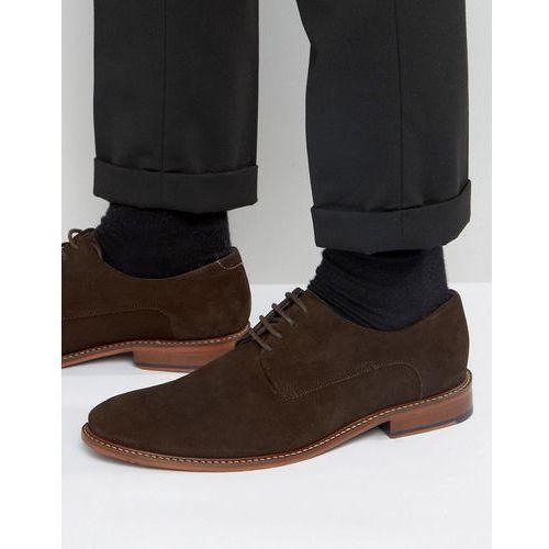 joehal 2 derby shoes in brown suede - brown marki Ted baker