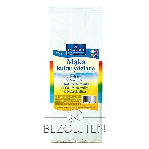 Mąka kukurydziana owa - 500g marki Bezgluten