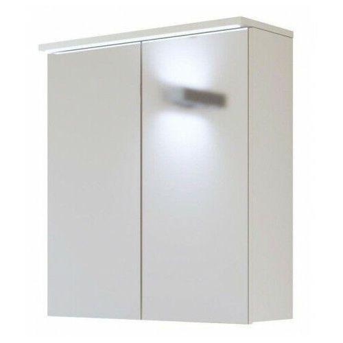 Wisząca szafka łazienkowa z lustrem - Marbella 7X Biały 60 cm, GALAXY-WHITE-840