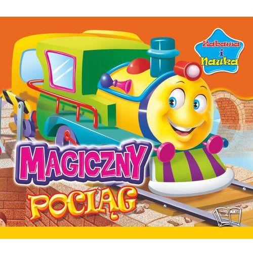 Magiczny pociąg Zabawa i nauka - TYSIĄCE PRODUKTÓW W ATRAKCYJNYCH CENACH, oprawa kartonowa