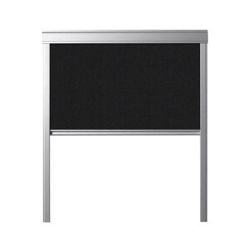 Contrio Roleta zaciemniająca dur m6a 4249 czarna 78 x 118 cm