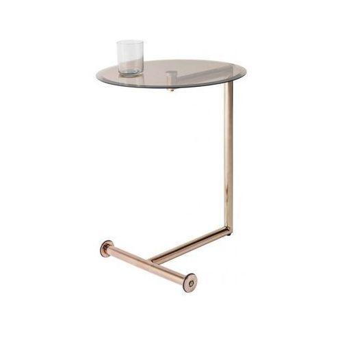 stolik kawowy easy living czarno-miedziany - 81320 marki Kare design