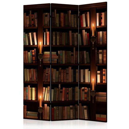 Parawan 3-częściowy - półki z książkami [room dividers] marki Artgeist