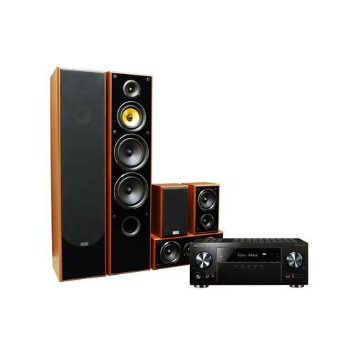 Pioneer Kino domowe vsx-832b + taga tav606 orzech + zamów z dostawą jutro! + darmowy transport! (2900922741174)