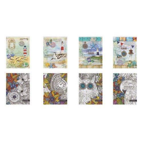 Fresh Notes a5/160 kartek w kratkę w twardej oprawie - (4820097121121)