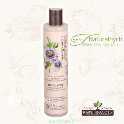Le cafe de beaute - odżywczy szampon - aktywny wzrost i blask