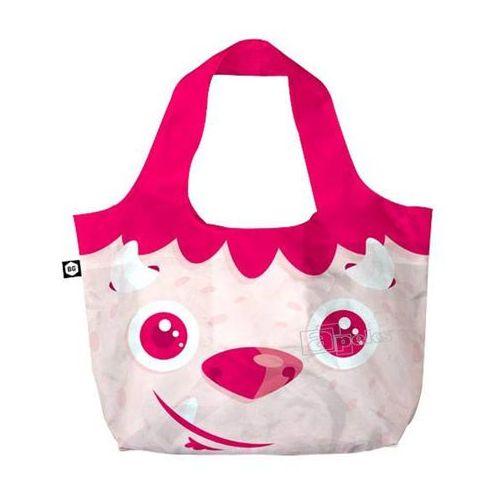 Bg berlin eco bags eco torba na zakupy 3w1 - redhead