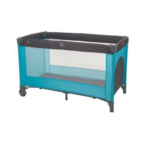 Fillikid łóżeczko turystyczne standard kolor szary/jasnoniebieski