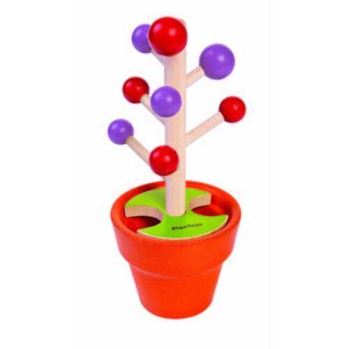 Plan toys Zbuduj drzewko - drewniana zabawka zręcznościowa, , plto-4620