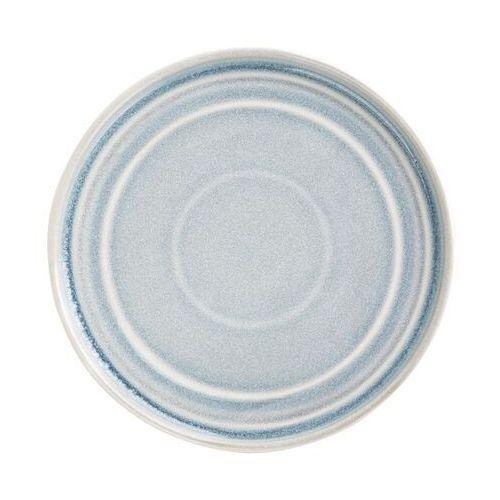 Jasnoniebieski płaski okrągły talerz cavolo 220mm (zestaw 6 sztuk) marki Olympia