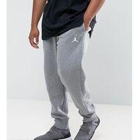 Nike Jordan PLUS Flight Fleece Joggers In Grey 823071-091 - Grey, kolor szary