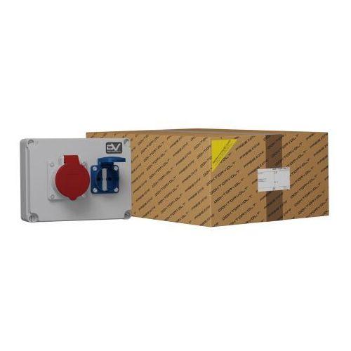Doktorvolt Rozdzielnica budowlana wdd 1x16a 1x230v gniazda schuko system niem. typ f 6688 (5904730356688)