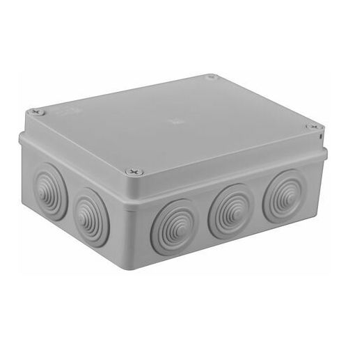 PUSZKA HERMETYCZNA 190x140x70mm IP55, S-BOX 406