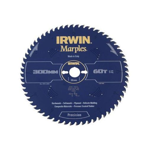 Irwin marples Tarcza do pilarki tarczowej 300 mm/60t/30
