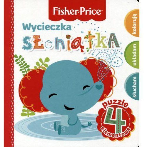 Fisher price puzzle wycieczka słoniątka marki Olesiejuk